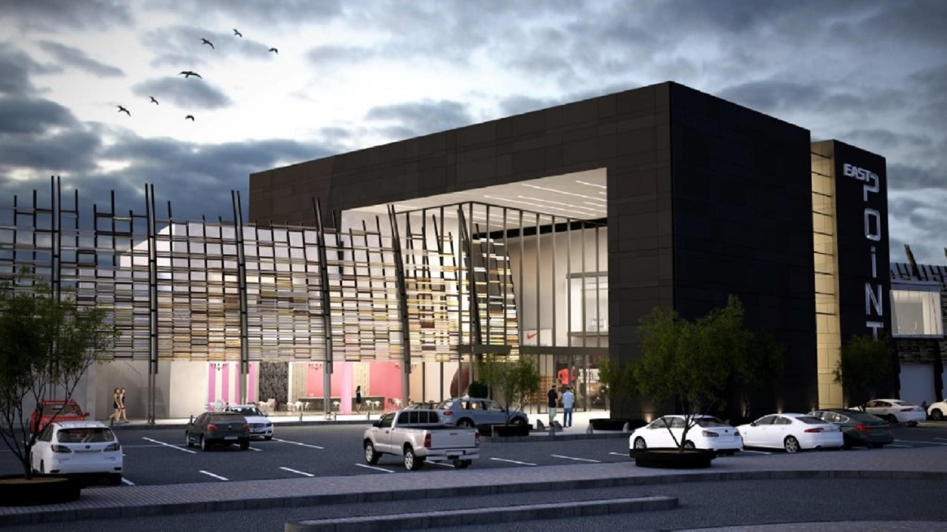 East rand galleria to receive a r411 million major revamp for Shopping mall exterior design