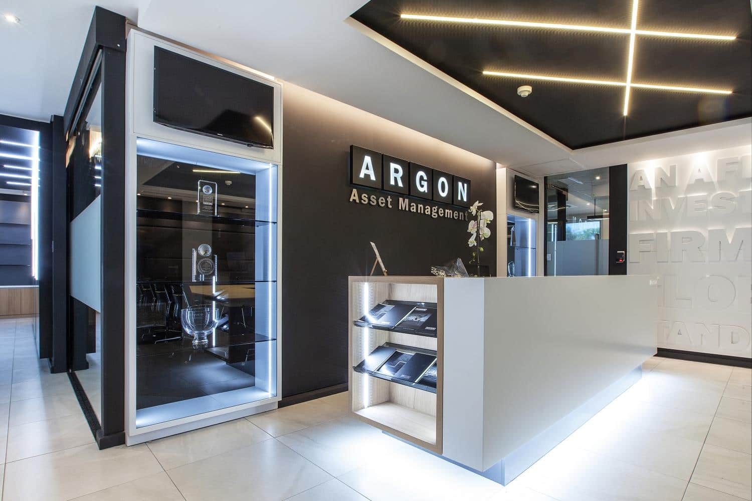 Turnkey Installation Of New Offices For Argon Asset