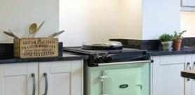 AGA cast iron cookers are now available in a small, 60cm wide model for smaller kitchens and households.