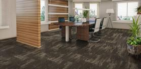 Belgotex Floors' new Forces collection of carpet tiles