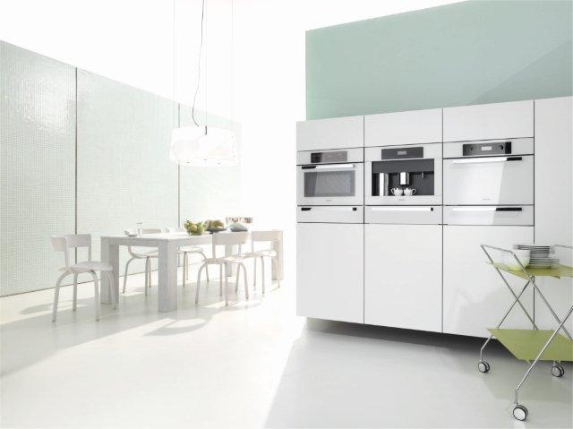 Miele's White Collection - Pic courtesy of Miele SA