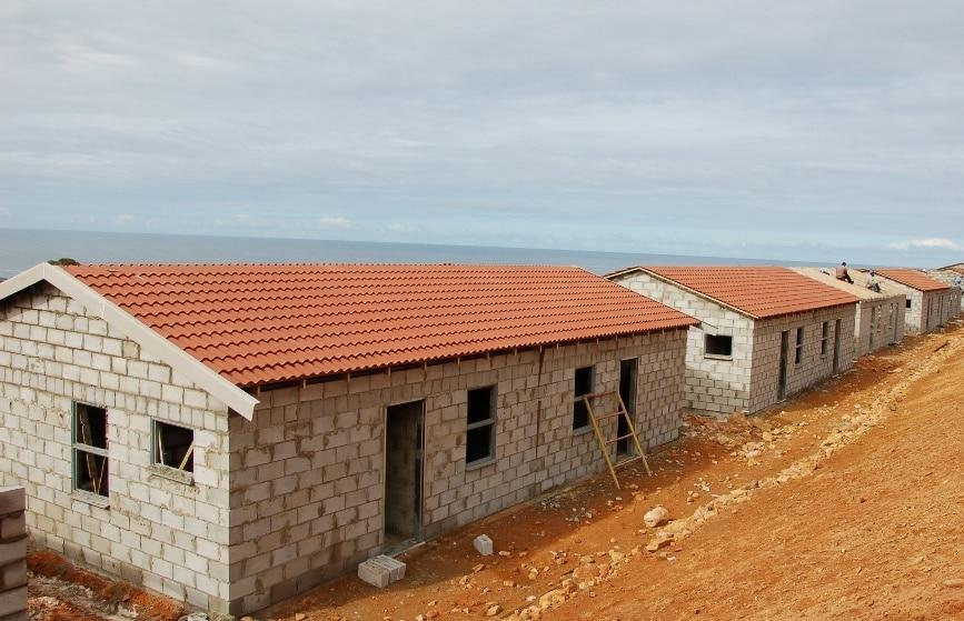Concrete Roof Tiles Cap A Successful Housing Project In