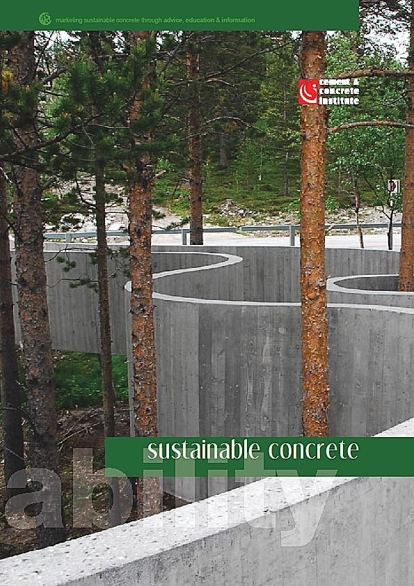 cnci - sustainability cover