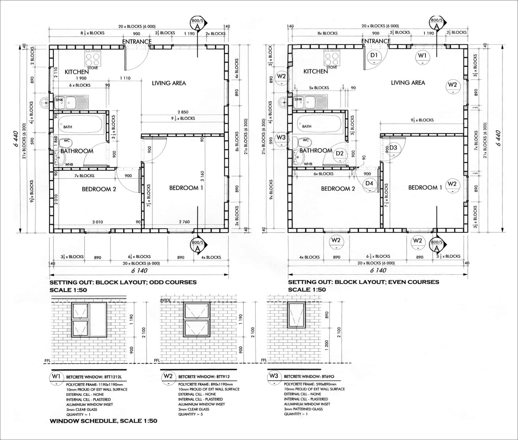 Free user friendly architect designed subsidy housing for Building floor plans