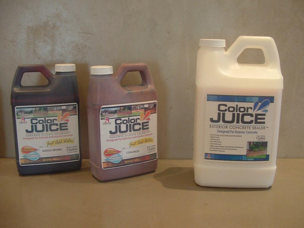 ColorJuice floor stain system