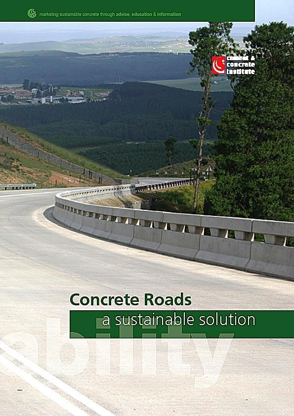 cnci - sustainable roads cover