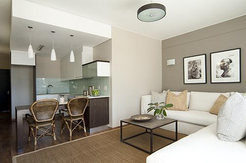 The Show Units Were Furnished By Yvonne Ou0027Brien Interior Design At The  Private House Company.