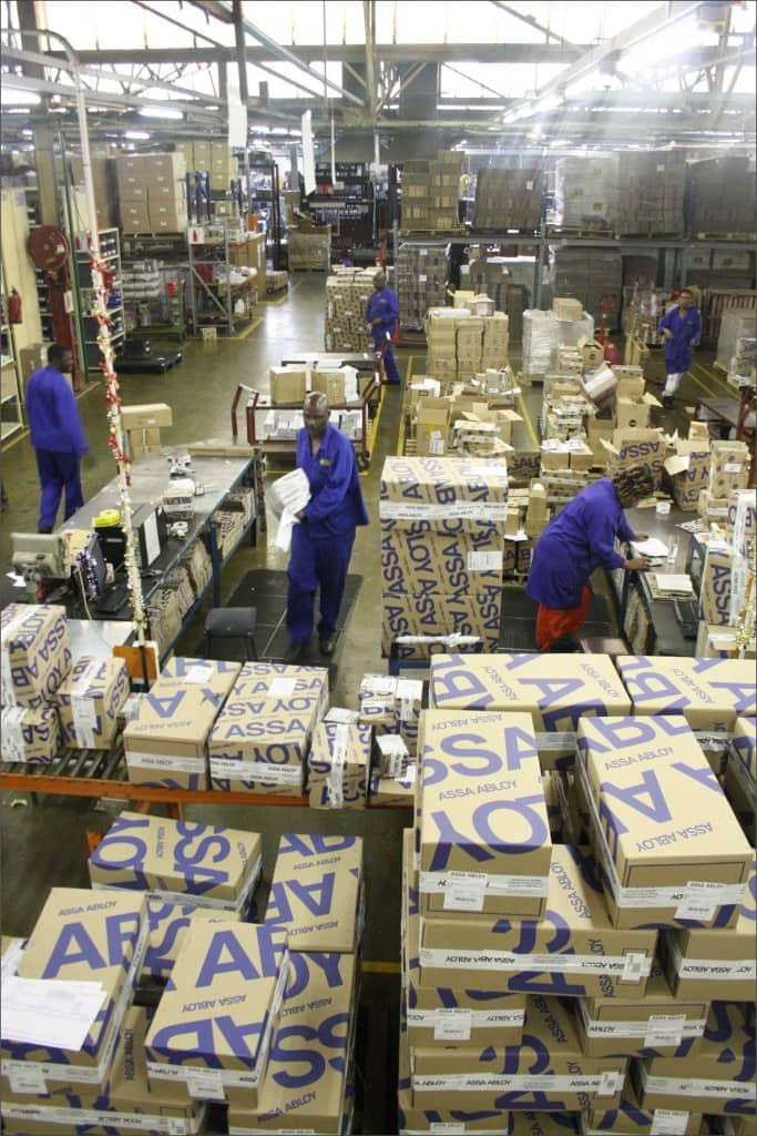 The Majority of product are manufactured locally at the ASSA ABLOY Westrand HQ