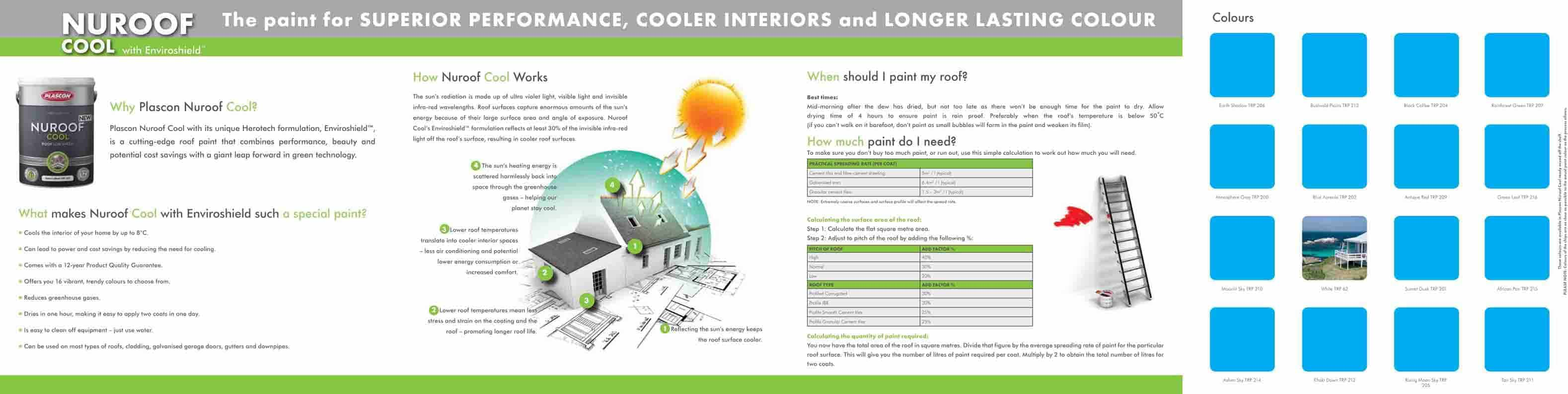 plascon s nuroof cool enviroshield lowers energy consumption plascon brochure nuroof cool 2