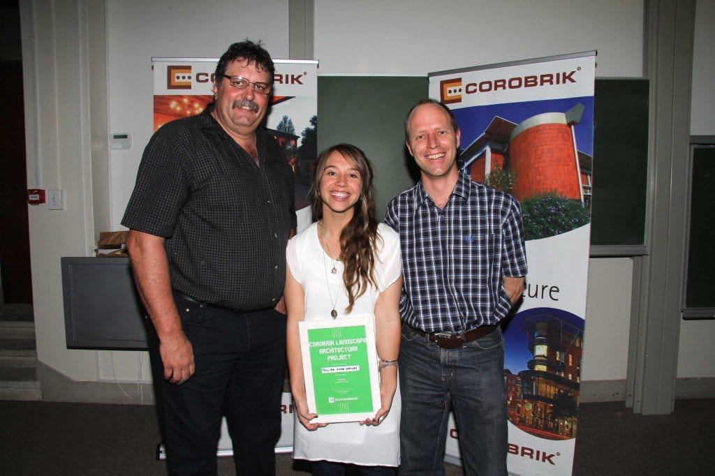 UCT Arch Awards Christie van Niekerk, Phillippa Hedley &