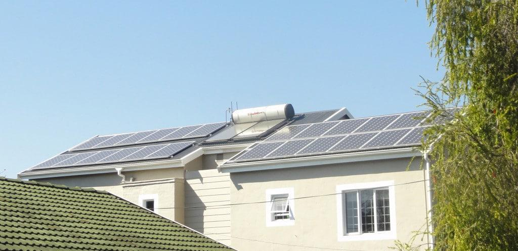 ARTsolar PV modules installed at home in Hilton 2