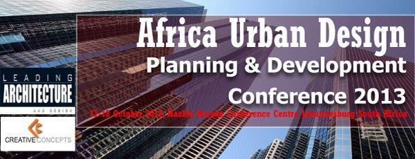 Africa Urban Design, Planning and Development Conference Banner
