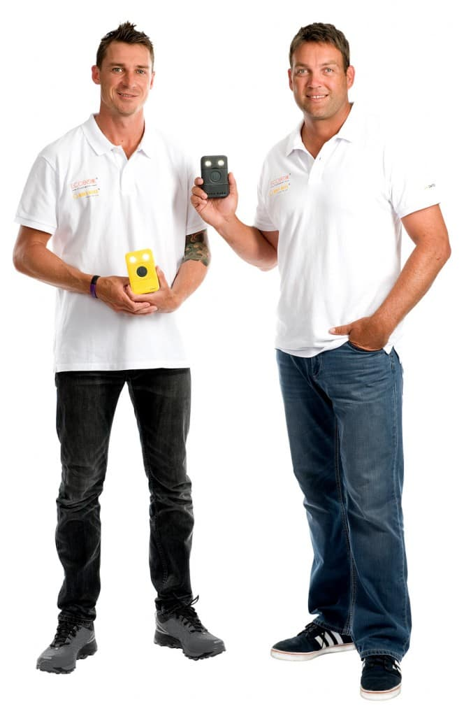 Pic 2 - LtoR Steyn Kallis with WakaWaka - low res