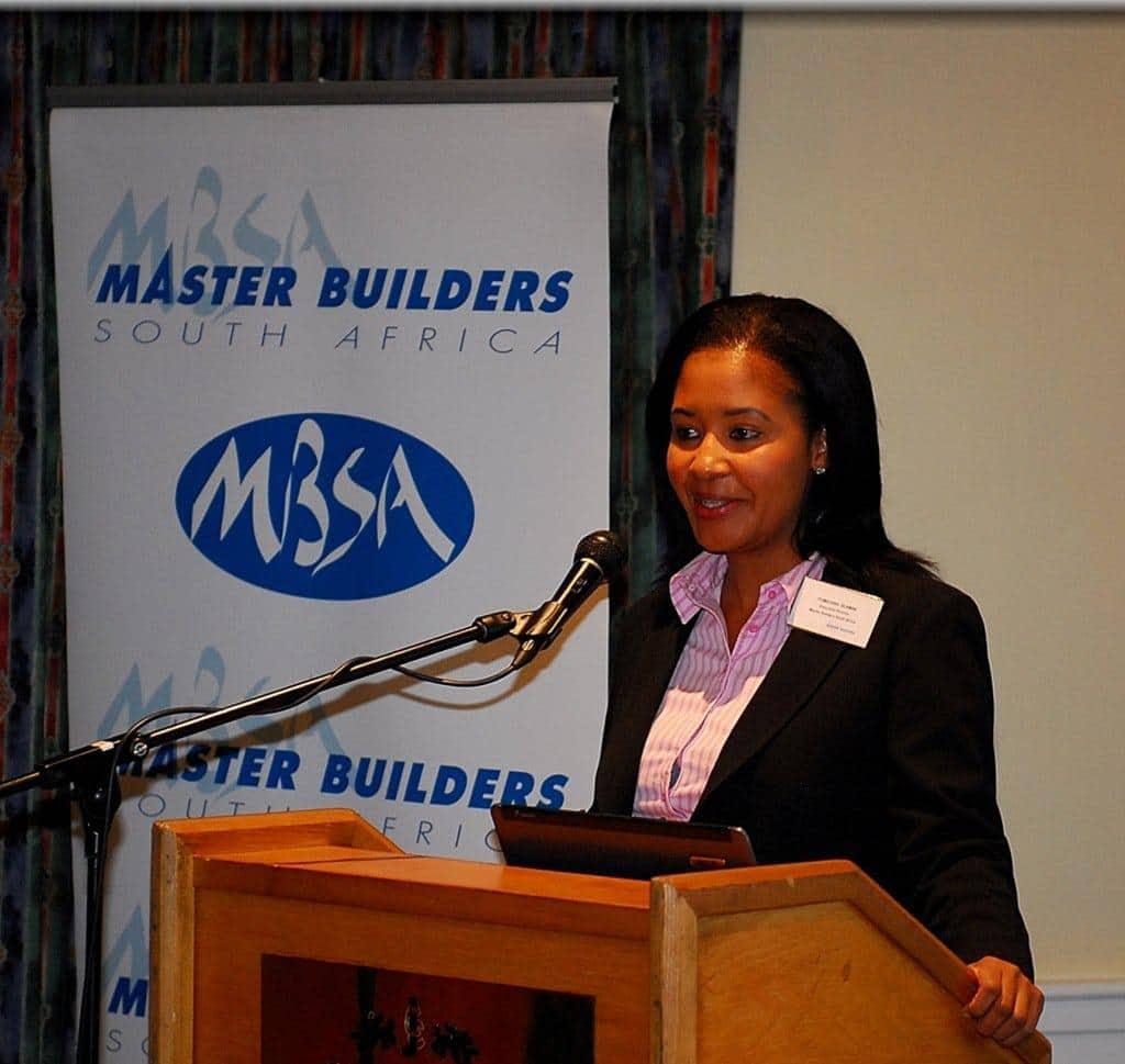 MBSA Executive Director, Tumi Dlamini