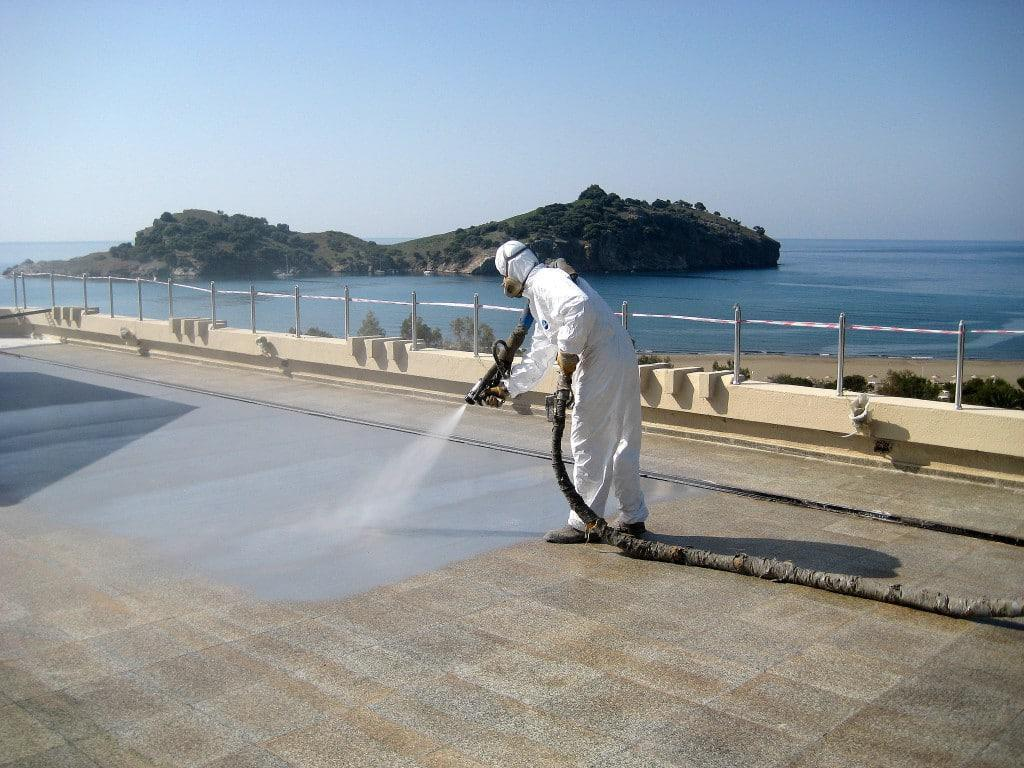 abe - waterproofing polyurea roof
