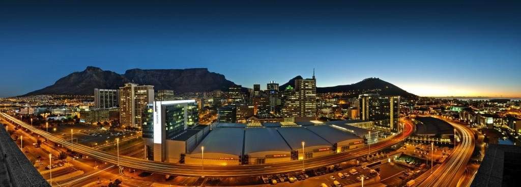 CTICC Panorama for GBCSA Con