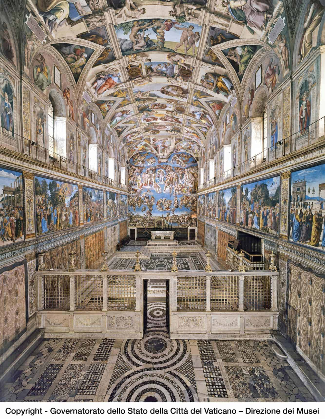 Osram lights up the Sistine Chapel