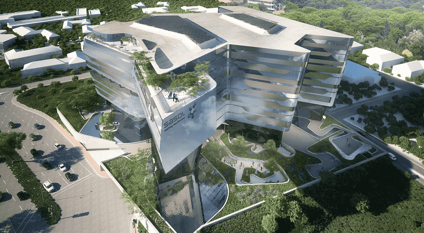 The new Sasol headquarters by Paragon are scheduled for completion next year