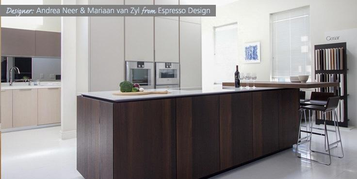 Andrea Neer and Mariaan van Zyl from Espresso Design are finalists in the Ceasarstone Kitchen of the Year