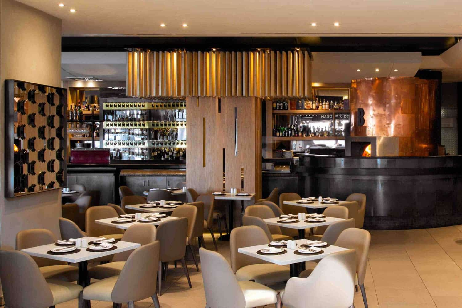 Details Of The New Interior Design Of Balduccis Restaurant In Cape Town By  ARRCC