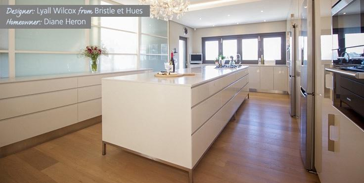 Lyall Wilcox from Bristle et Hues a finalist in Ceasarstone Kitchen of the Year