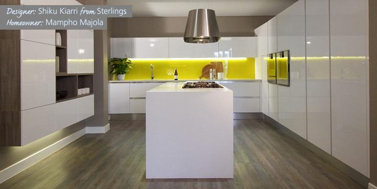 Shiku Kiarri from Sterlings is a finalist in the Ceasarstone Kitchen of the Year