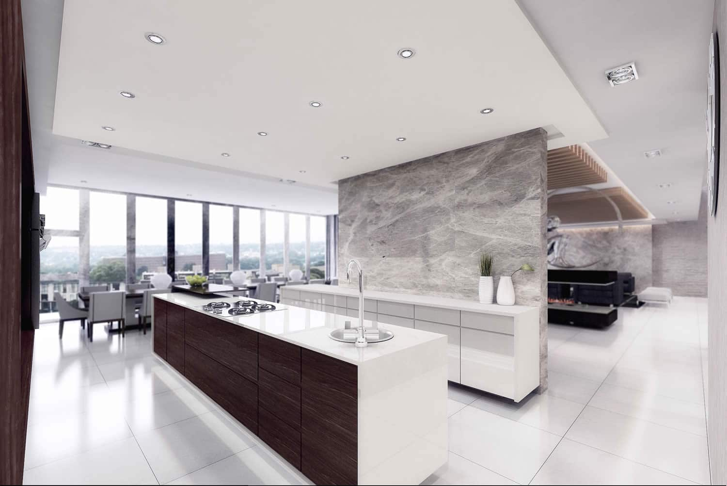The Houghton apartment by Pellerade - Kitchen