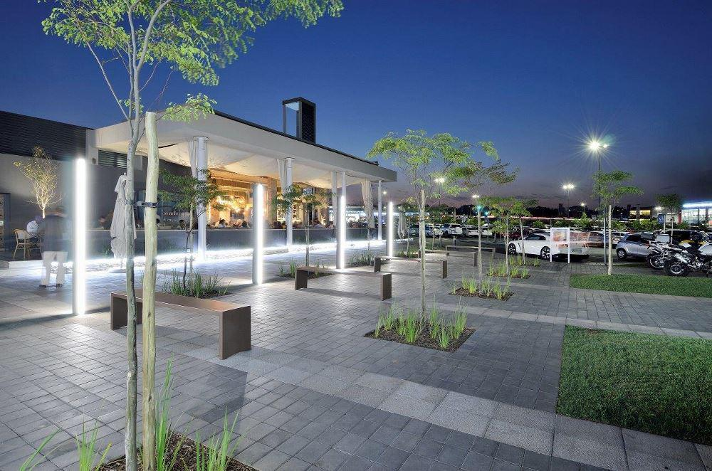 One entry in the Aesthetics Commercial category was that of Waterfall Corner, Woodmead Drive, Johannesburg.