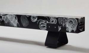 Laurie Wiid van Heerden and Ceramic Matters collaborated on this piece: Tattooed Sleeve