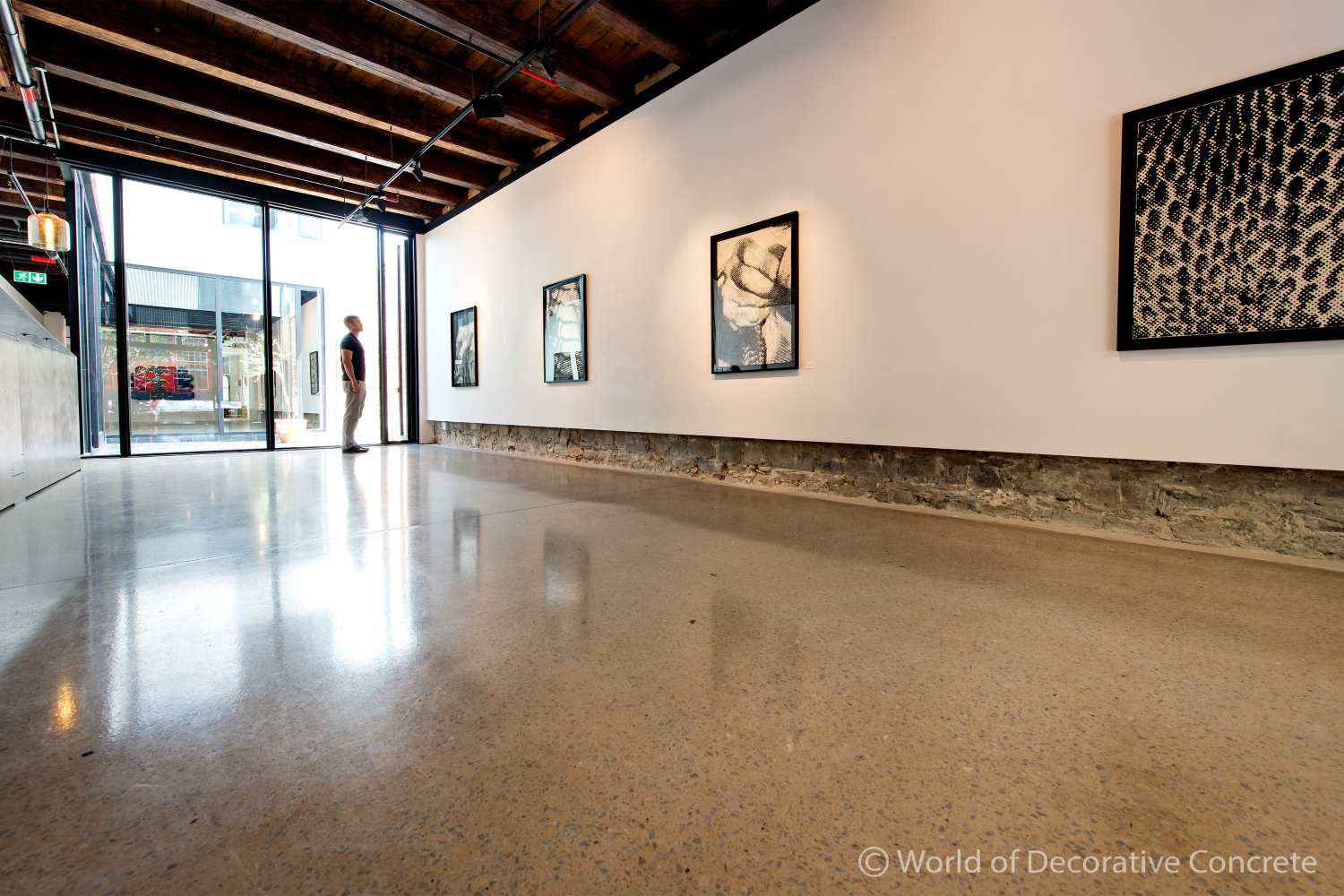 The floors of Smith Studio Gallery won the Artevia Awards for the