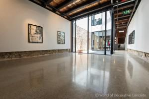 Architecture and design firm, Urbain McGee and grinding and polishing contractor, World of Decorative Concrete overall winners of Lafarge Artevia Awards