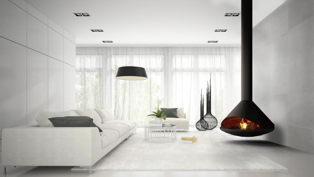 Fireplace Design cone fireplace : Beauty Fires launches range of suspended fireplaces