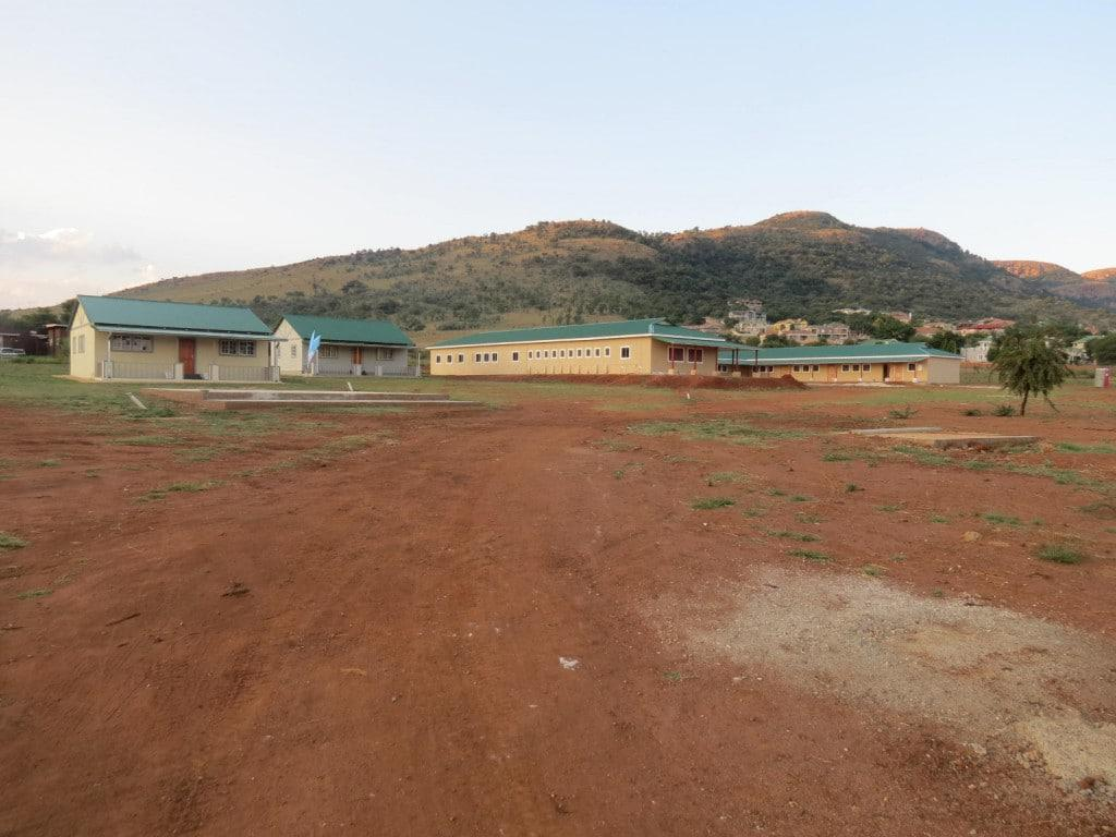 A new village built from recycled polystyrene will bring hope to orphans from the North West Province.