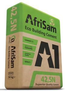 By using slag, the CO₂ footprint of AfriSam's cement manufacturing activities is significantly reduced.