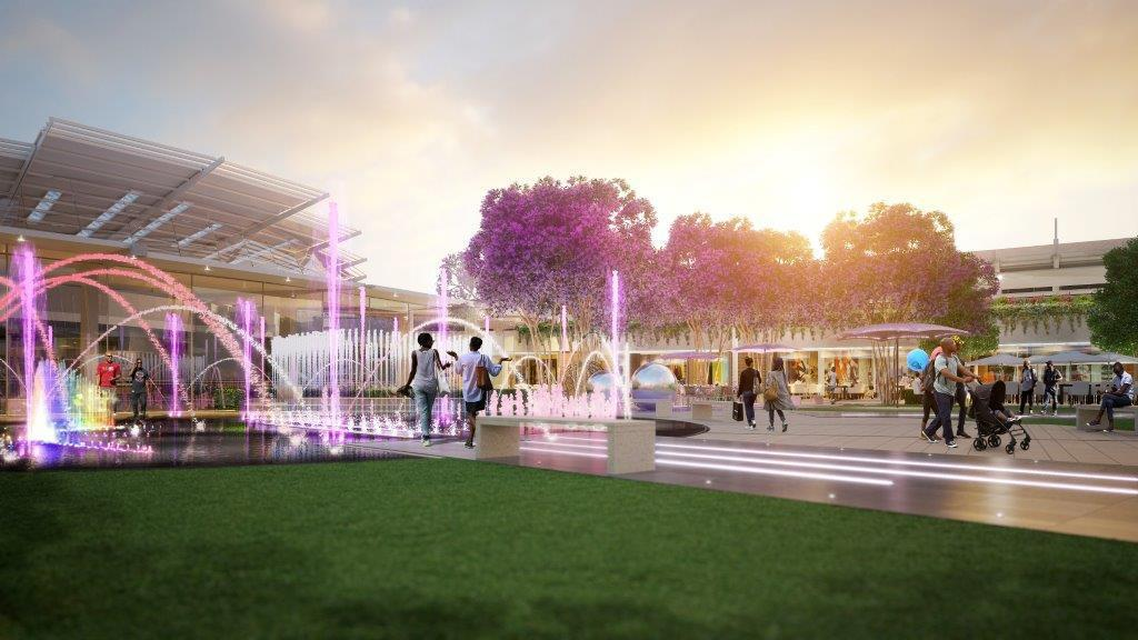 The R2.5-billion refurbishment of Menlyn Park Shopping Centre, set to open the 24 November 2016, will cement its place as Africa's largest mall with a total lettable floor space of over 170 000m2. The focus of the redevelopment was to enlarge the food and entertainment areas, as well as introduce a fashion wing and upmarket grocery options. Menlyn Park Shopping Centre will be home to 500 stores.