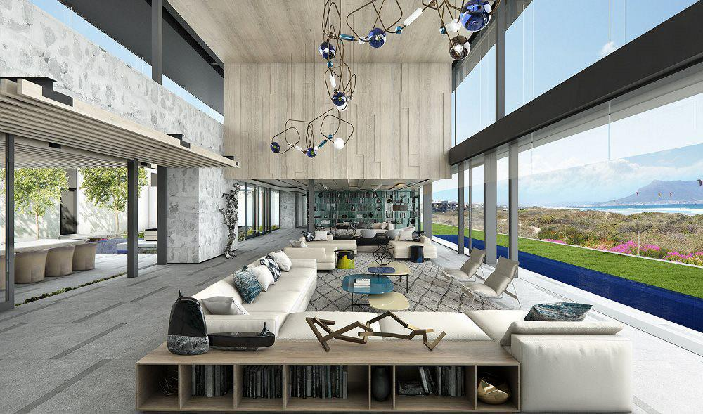 famous interior designers interior design south africa johannesburg Customised furniture and interior finishes library that ARRCC recently  completed in Revit u201c