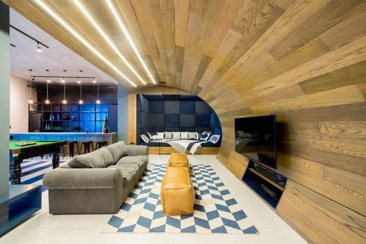 The Urban Man Cave : Inhouse brand architects designs ultimate man cave