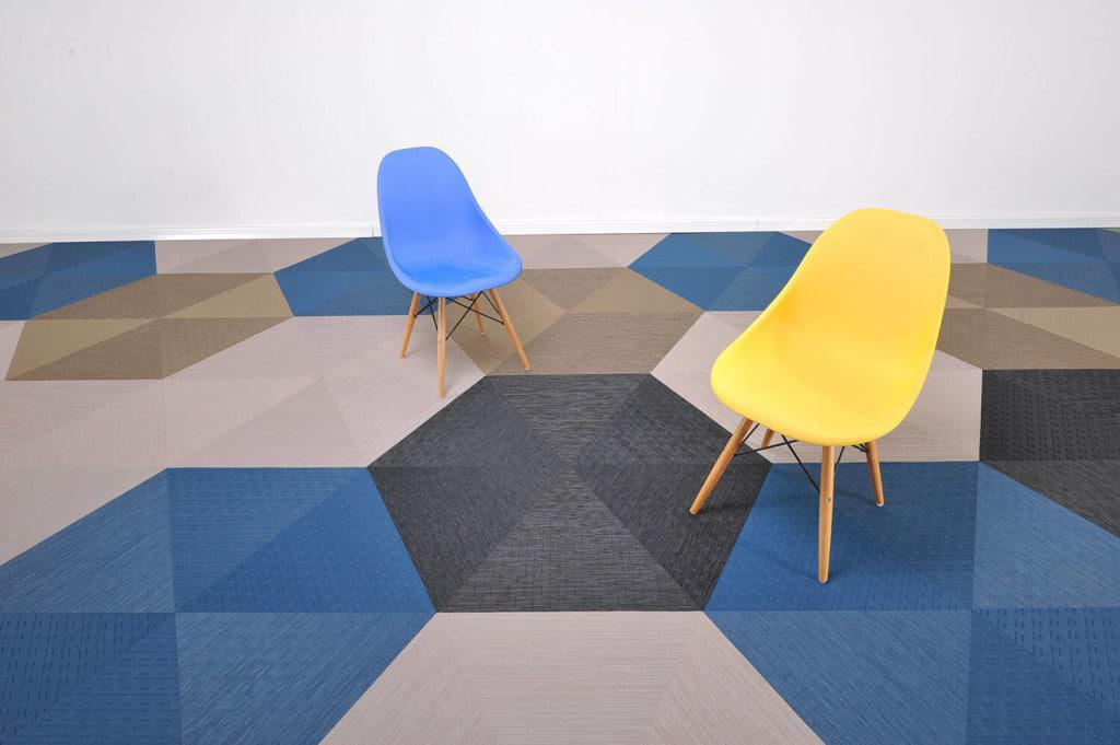 Carpet manufacturer Van Dyck has added more bright colours to its Florpoint Earth