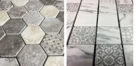 Enviro Glass Mosaic consists of recycled glass mosaic sheets with a matt finish.