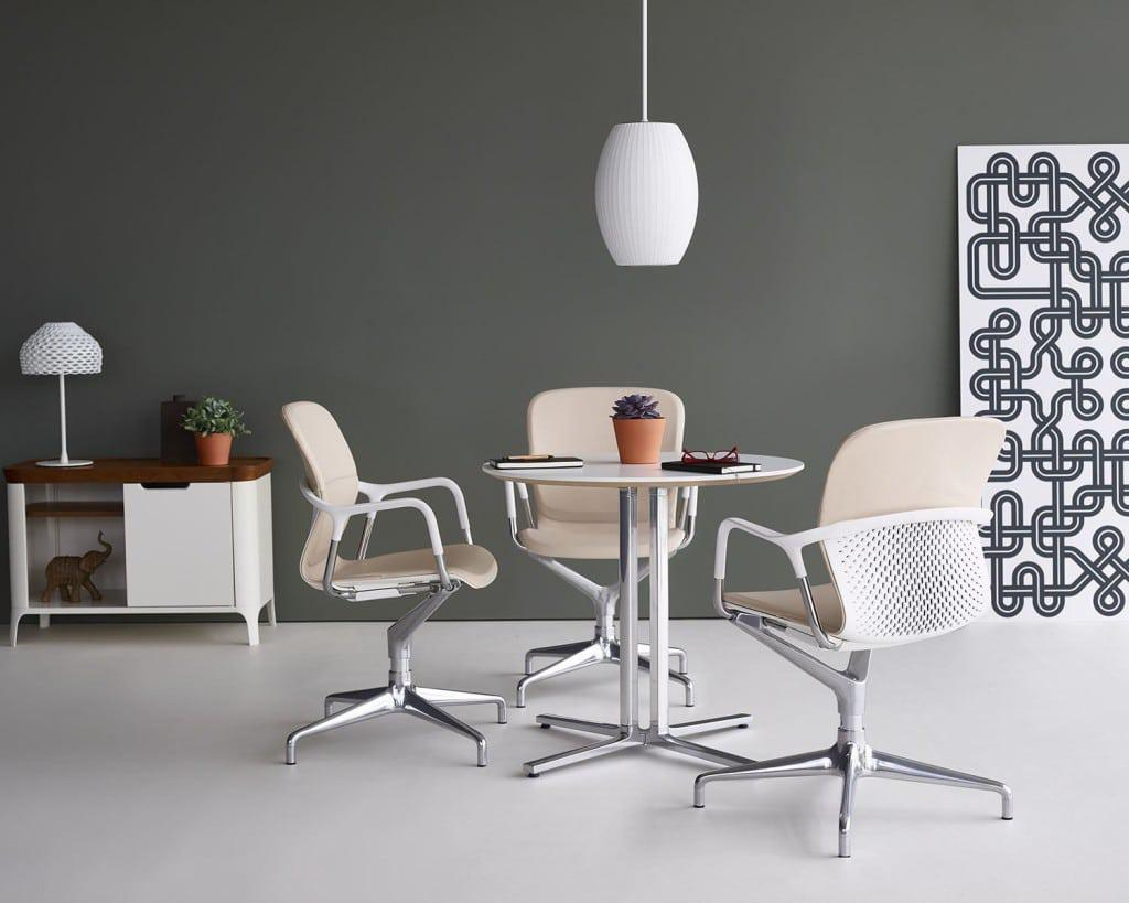 Global design manufacturer Herman Miller, Inc. has partnered with London-based design company for people to create the Keyn Chair Group