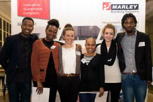 Gauteng Institute for Architecture and Marley Building Systems award bursaries