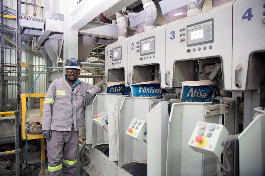 AfriSam opens first cement manufacturing facility established in Lesotho.