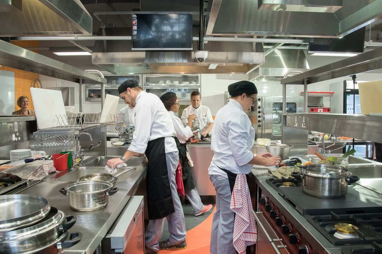 Culinary Equipment Company Has Designed And Equipped The New Training Kitchens At The University