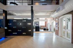 Online travel agency and booking website Travelstart modelled its new Cape Town headquarters, designed for them by Inhouse, on the office featured in Nancy Meyers' 2015 comedy film The Intern.