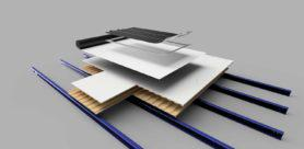 BASF and photovoltaic technology company SoloPower Systems have launched the seamless and multi-layered roofing system