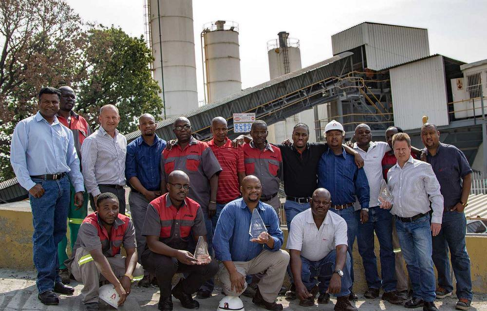AfriSam won two of the four accolades bestowed on the industry's top performers at the recent Southern African ReadyMix Association (SARMA) awards.