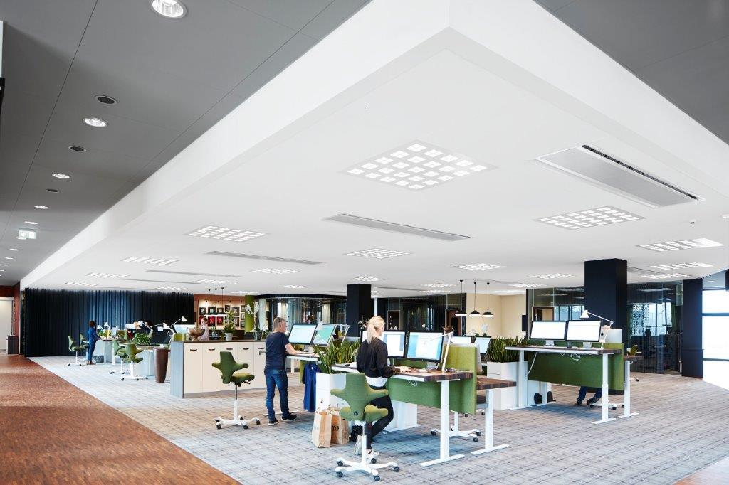 Saint-Gobain Ecophon offers an improved range of suspended wall to wall ceilings
