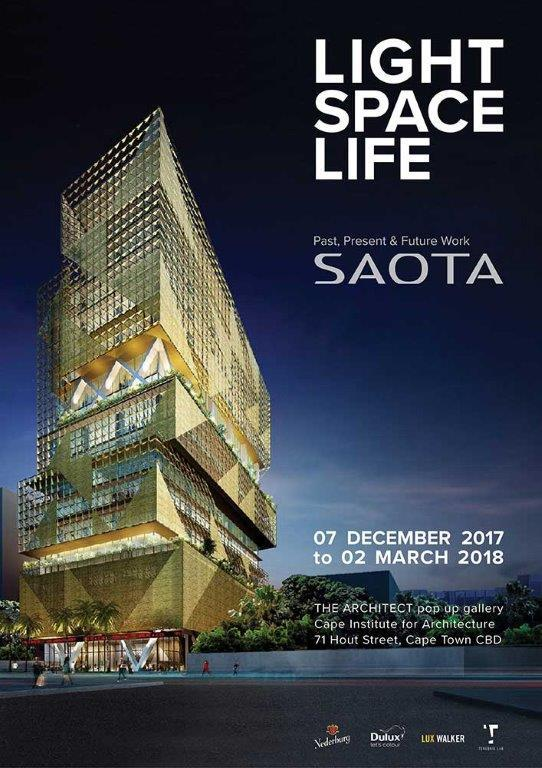 Light Space Life, SAOTA's first exhibition, takes the viewer through the architecture studio's history and 30-year journey, highlighting past, present and future work around the globe.