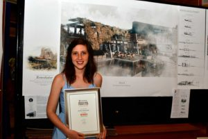 Renée Minnaar is the regional winner for the University of Pretoria in the 31st Corobrik Architectural Student Awards.