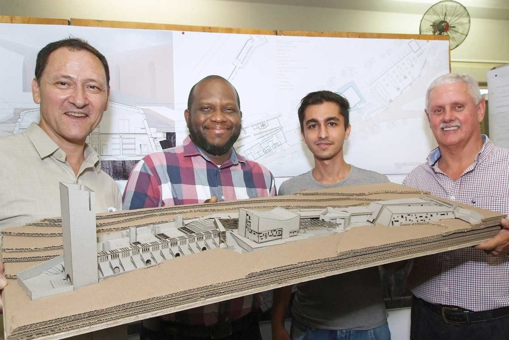 Yousuf Vawda of the University of KwaZulu-Natal University won the regional Corobrik Architectural Student of the Year Awards for his thesis entitled 'Memento Mori - Remember Your Death'